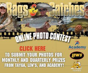 Big Bags and Catches Photo Contest is Back!