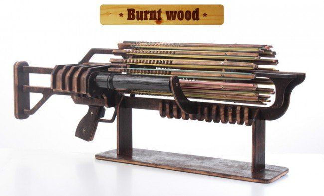 Rubber Band Machine Gun!? Yep, It is Real.