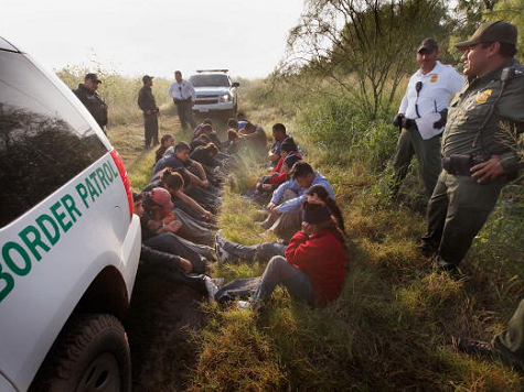Illegal Immigrants Released into Texas to Ease Over-Crowding of Detention Centers