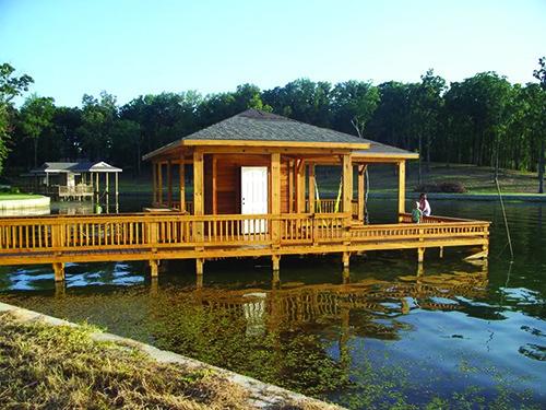 Lake Fork Dock-After