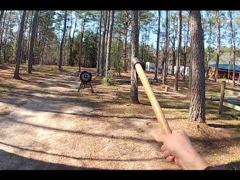 Extreme Tomahawk Throwing [video]