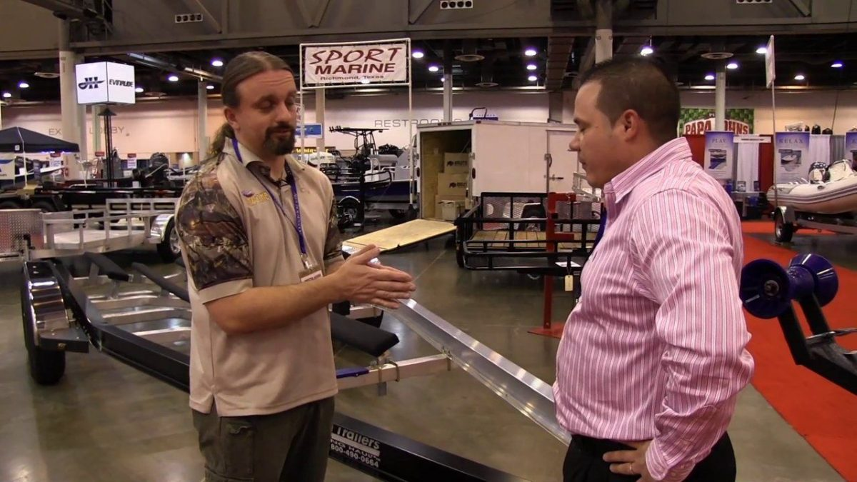 McClain Trailers – 2014 Houston Boat Show
