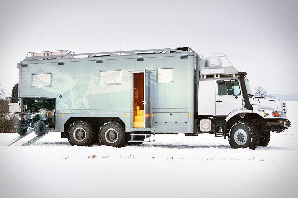 Mercedes-Benz Zetros 6×6 Vehicle