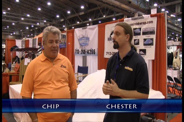 Texas Mobile Shrink Wrap – 2014 Houston Boat Show