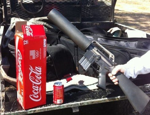 Soda Can Launcher