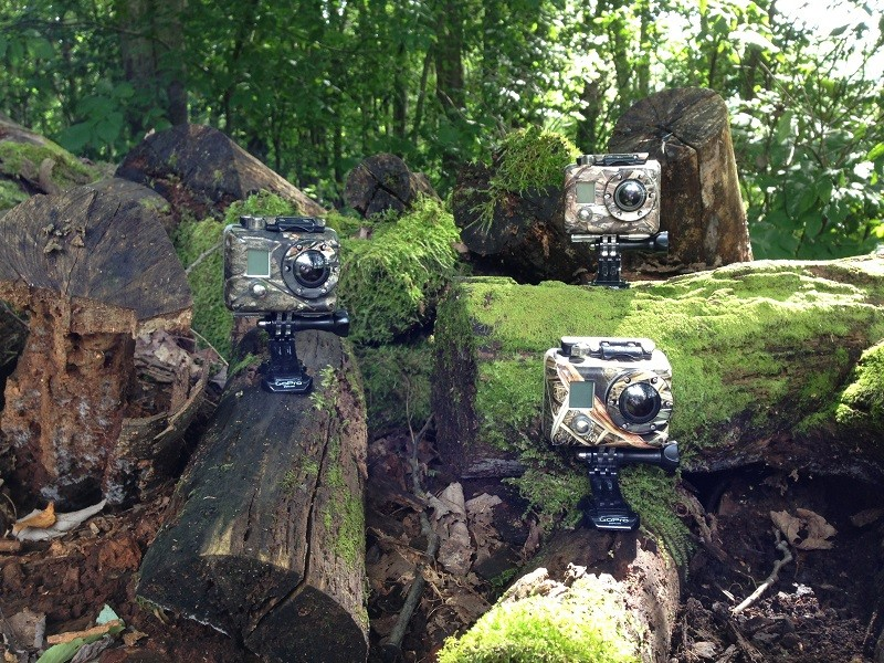 GoPro Armor by Weapon Armor Available in Mossy Oak Camo