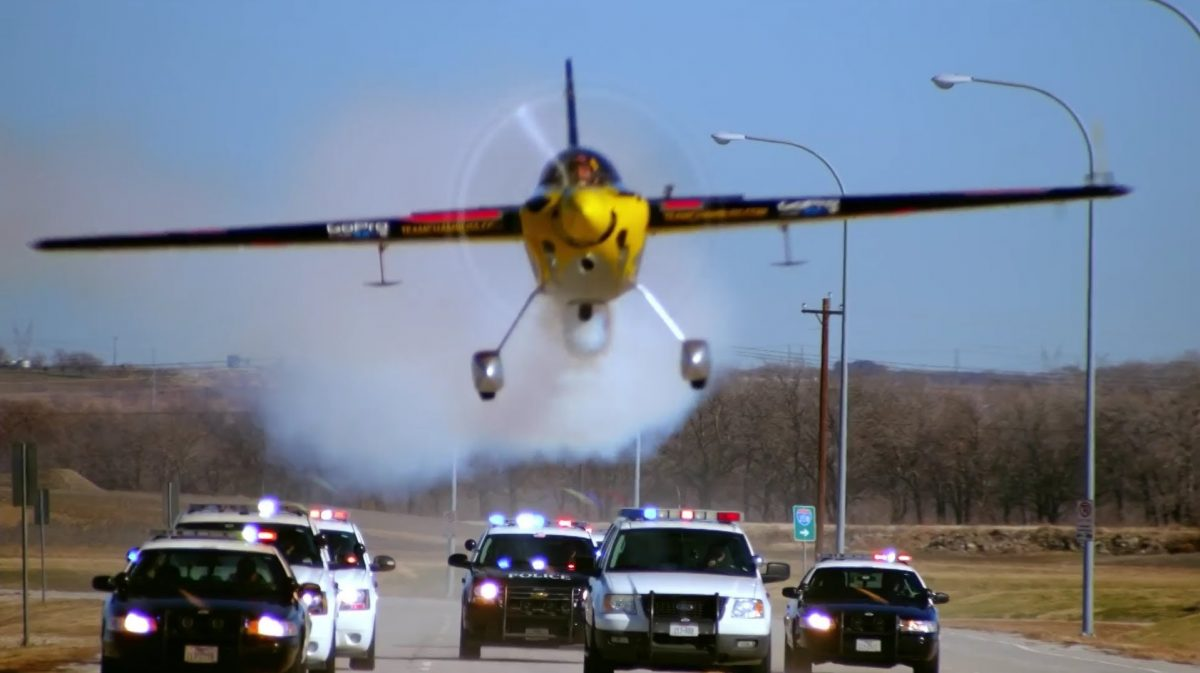 High-Speed 'Chase' With Texas Police Goes…Airborne