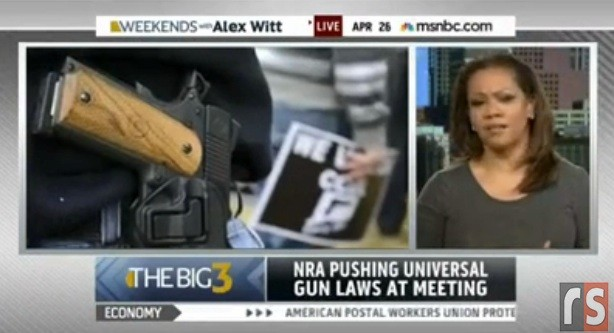 MSNBC Contributor Goldie Taylor Thinks Gun Rights Cause Undesirable Self-Reliance And Independence
