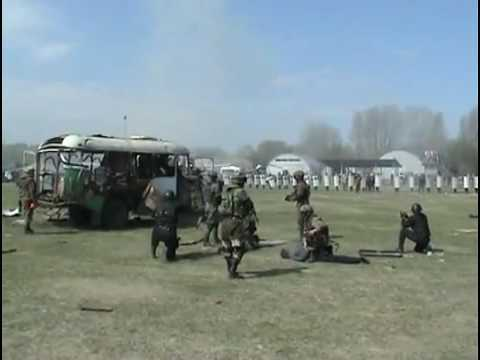 Russian SWAT Team Bus Breeching [VIDEO]