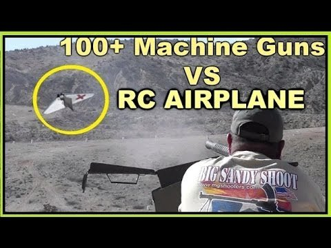 VIDEO: Automatic Weapons Can't Take Down Drone