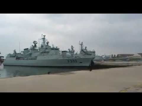 Video: Portuguese navy's drone launch ends in embarrassing fail