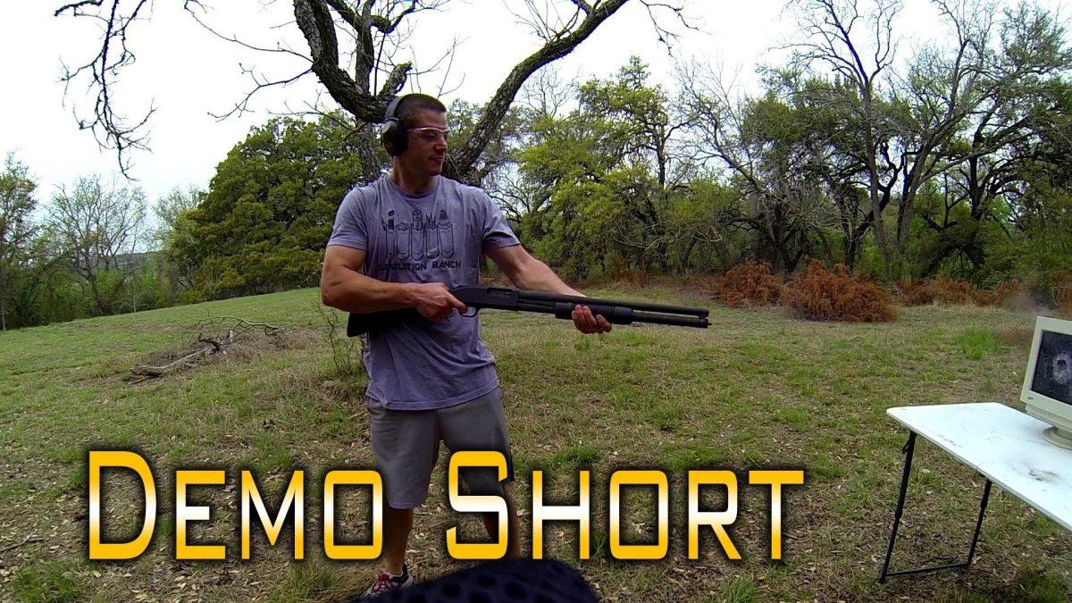 Video: The Most Tactical Shotgun Reload