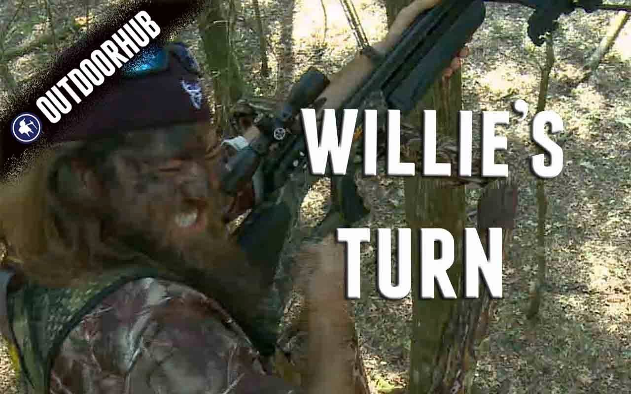 Video: Willie Robertson's First Deer with a Crossbow