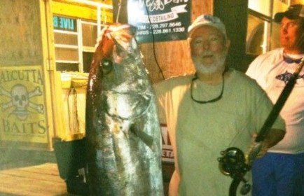 Man Sets Record with 126-pound Fish in Mississippi