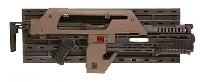 Aliens M41A conversion. Yes it shoots real bullets