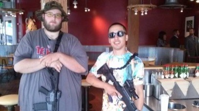 Open-carry groups call to stop carry of long arms into private businesses
