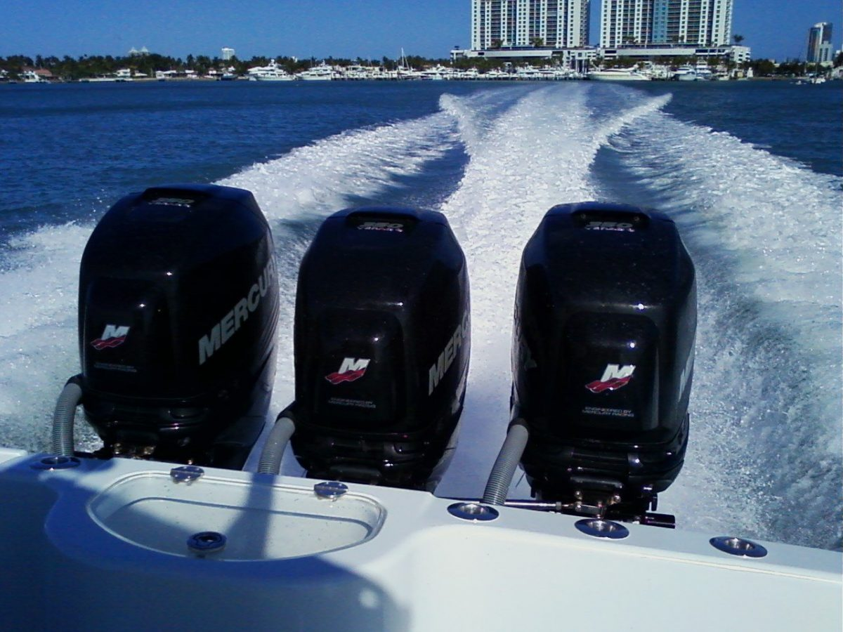 The Triple Outboard Engine Craze – Is it Crazy?