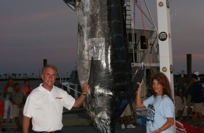 Massive 843.7-pound Marlin Caught During Gulf Coast Billfish Tourney