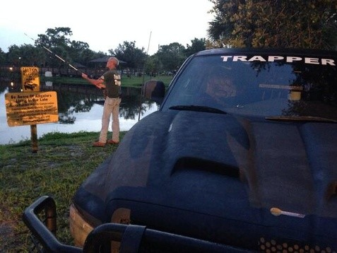 Wildlife Officials Attempt to Capture Shark in City Park Pond
