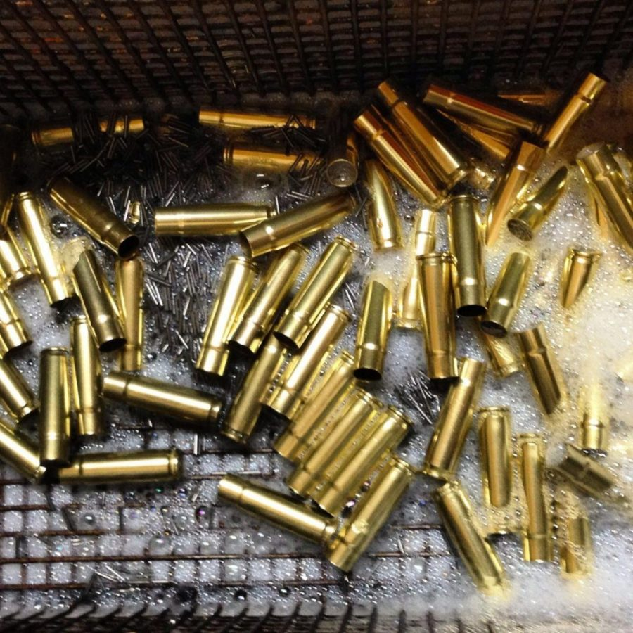 .300 BLK brass fresh out of the tumbler.