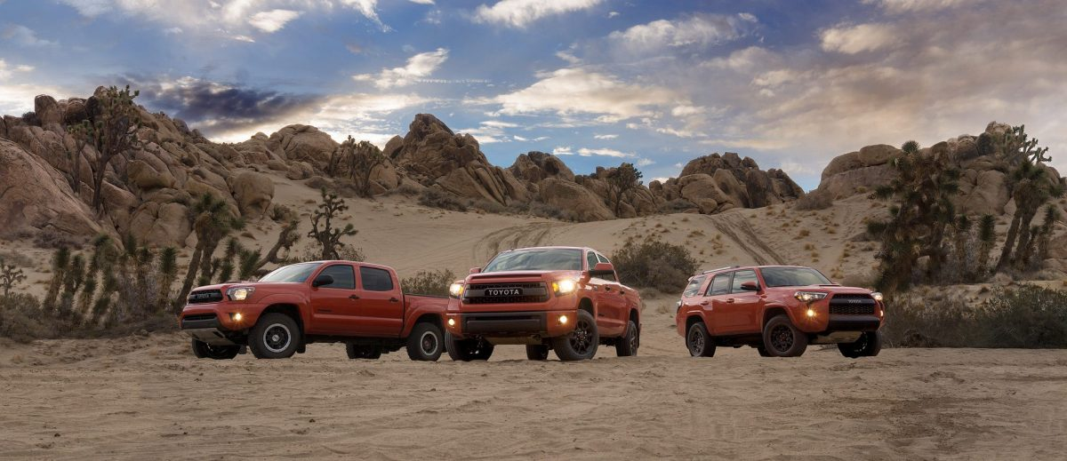 Toyota brings TRD Pro trucks to outdoor professionals