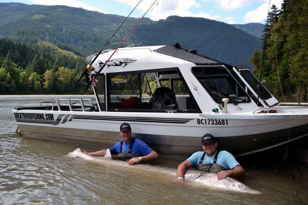 Atlanta father, son catch 884-pound fish in Canada