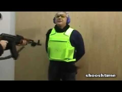 How Italians Test Bullet Proof Vests (VIDEO)