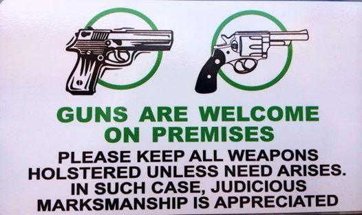 This Family-Run Restaurant Is the Opposite of a Gun-Free Zone – Wait Until You Read the Sign That's Posted