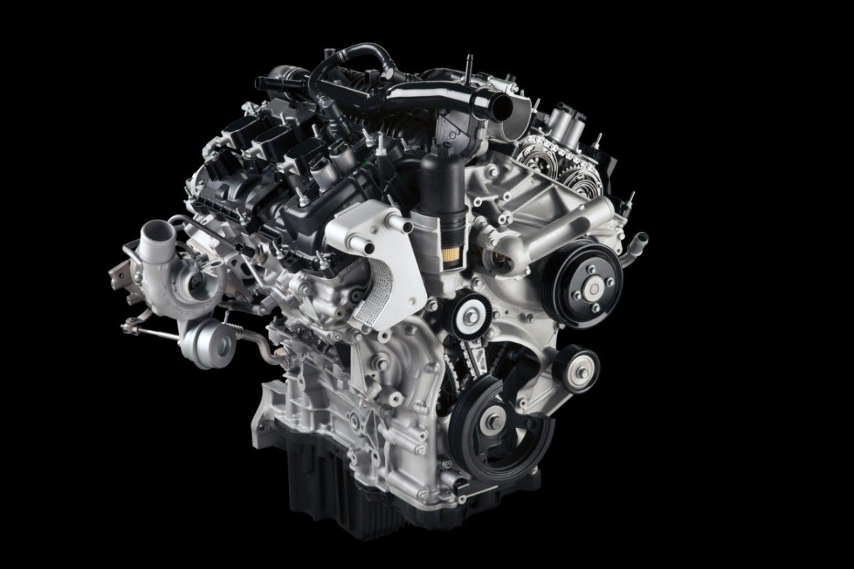 2.7-liter EcoBoost engine in the 2015 Ford F-150
