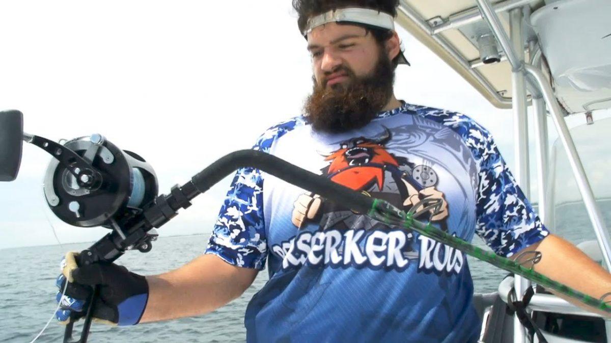500-pound Grouper Breaks Rod Designer's Pole in Half (Video)