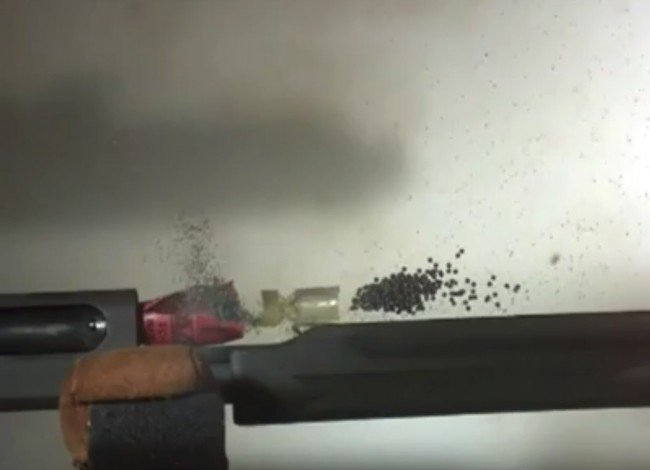 Shotgun Fired With No Barrel