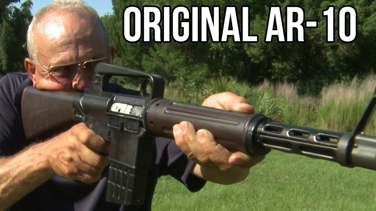 Jerry Miculek Shoots Ultra Rare Full-Auto AR-10 Prototype from 1957 [Video]