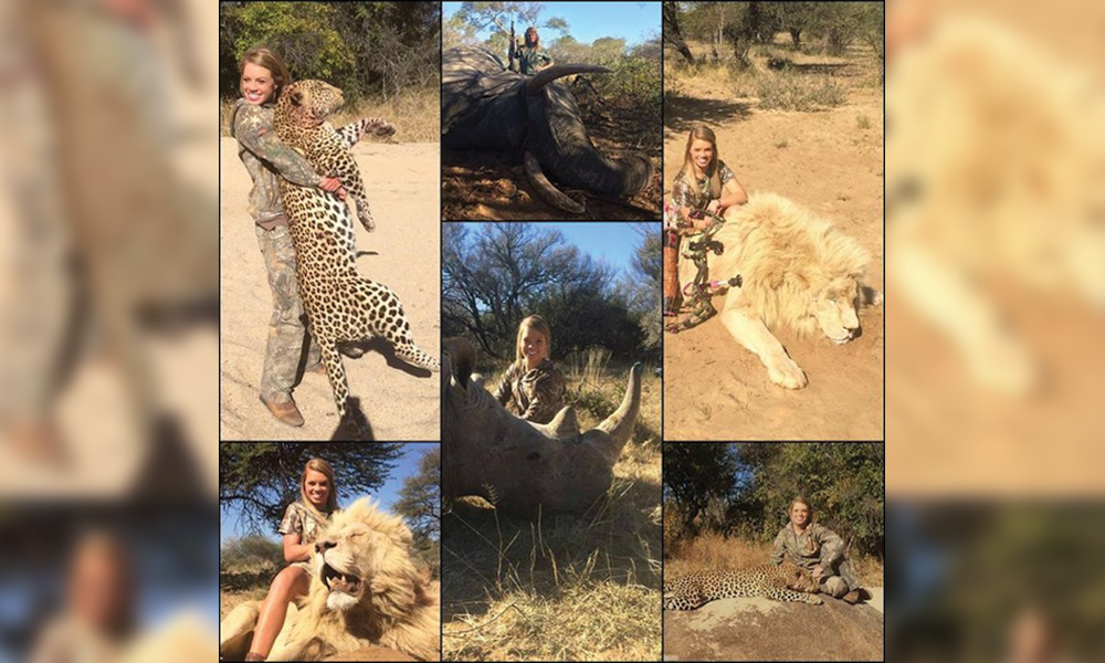 UPDATE: Facebook deletes Texas cheerleader's hunting photos after outcry