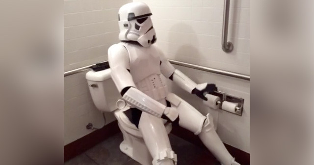"Man Dressed as Stormtrooper Prompts Lockdown After Bystander Thinks His Prop Blaster is an ""AK-47″"