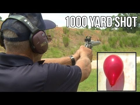 1,000-yard Shot With A 9mm Revolver