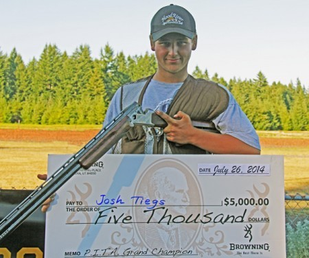 Young Shooter Wins Handicap Event at Pacific International Trap Shoot