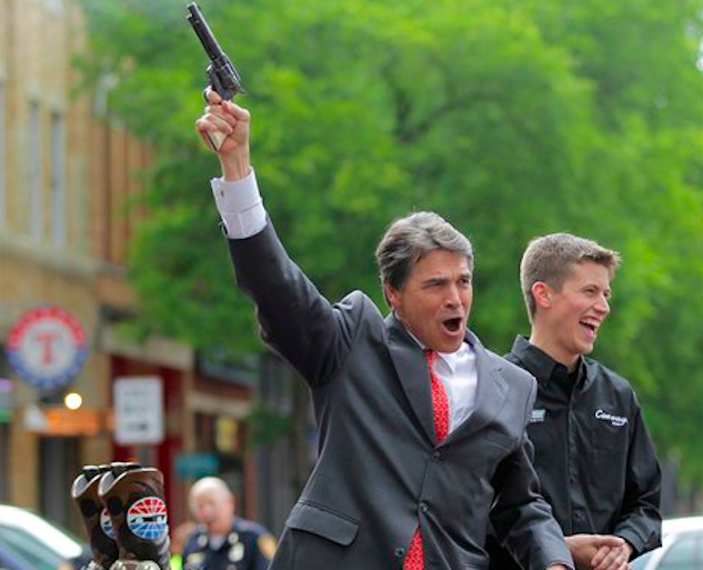 Indicted Gov. Rick Perry loses his concealed carry permit