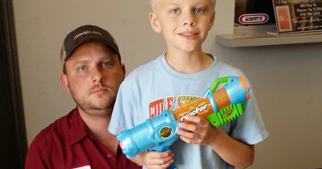 Fourth Grader in Georgia Suspended Three Days For Bringing Nerf Gun to Show and Tell