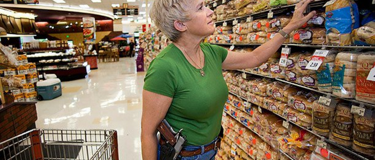 Texas Senate approves open carry of handguns