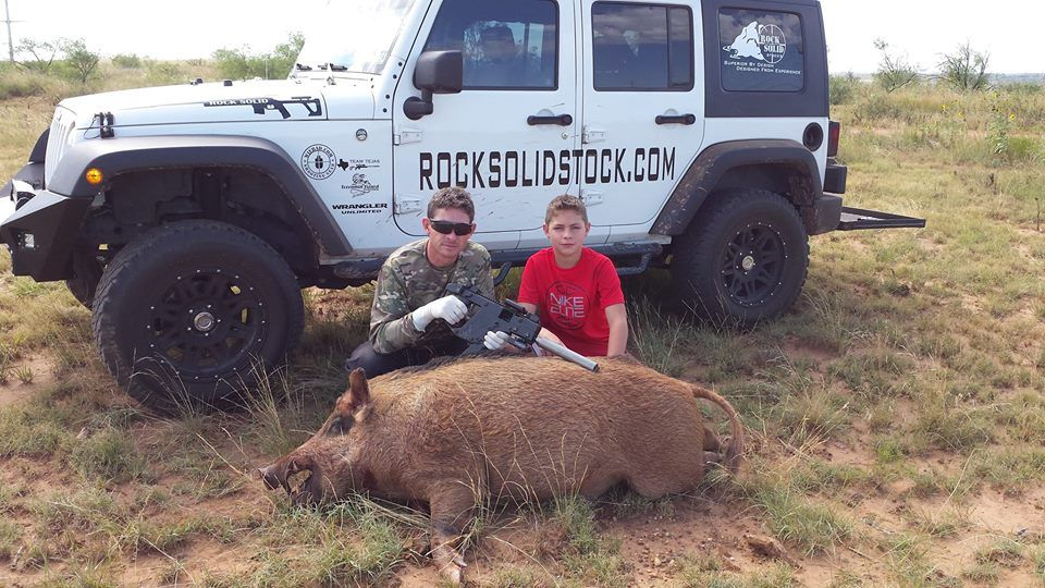 Hog Hunting With a KRISS Vector SDP