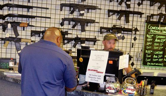 Feds forcing new gun buyers to declare race, ethnicity