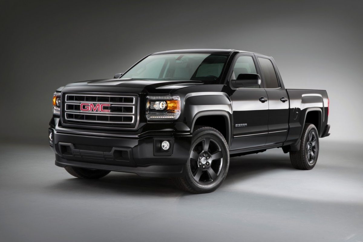 GMC ups the sport truck ante for 2015 with Sierra Elevation Edition