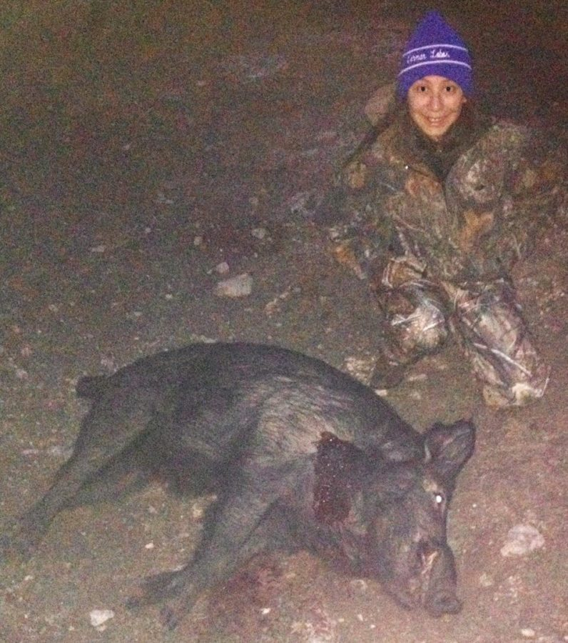 FIRST HOG HUNT