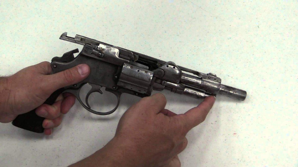 Experimental Auto Revolver