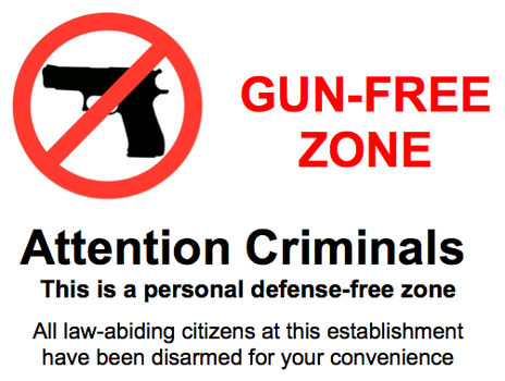 gunfree zone criminals