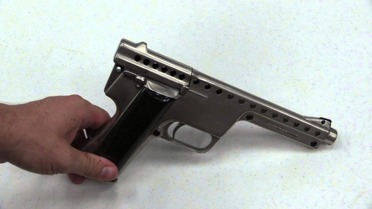 GyroJet: The Rocket-Powered Pistol