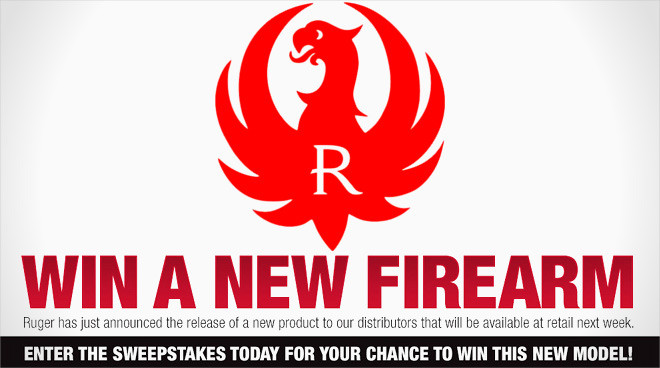 Ruger announces 'Flash Sweepstakes' for mystery product