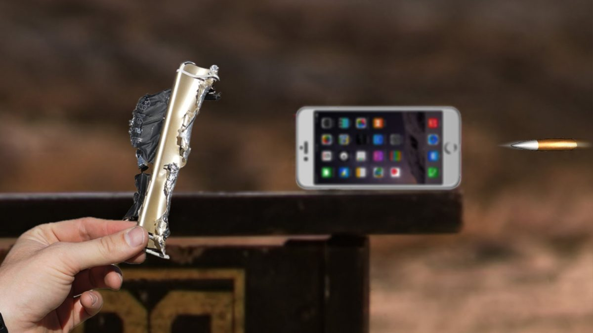 iPhone 6 Plus v. .50-cal (VIDEO)