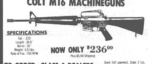 ATF Approves Post-86 Machine Gun Form 1