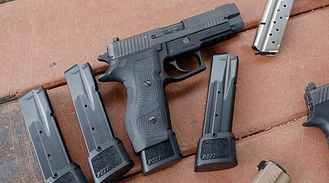 SIG unveils new 14+1 .45 ACP P227 TACOPS